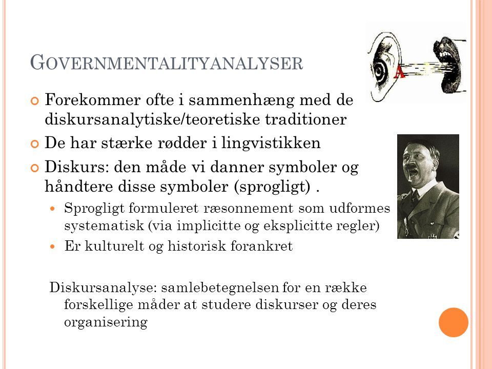 Governmentalityanalyser