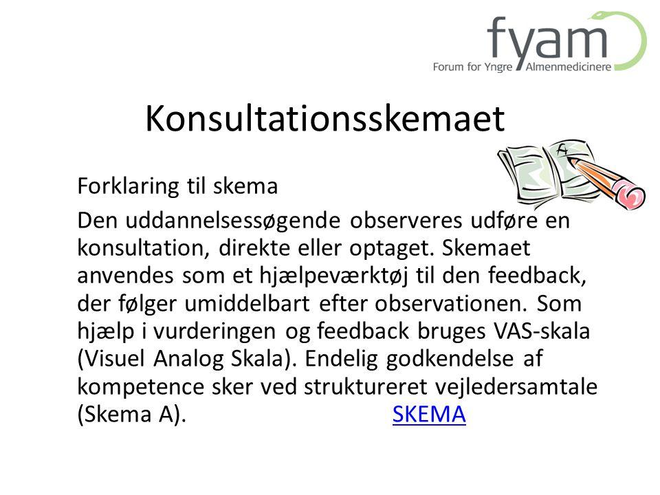 Konsultationsskemaet