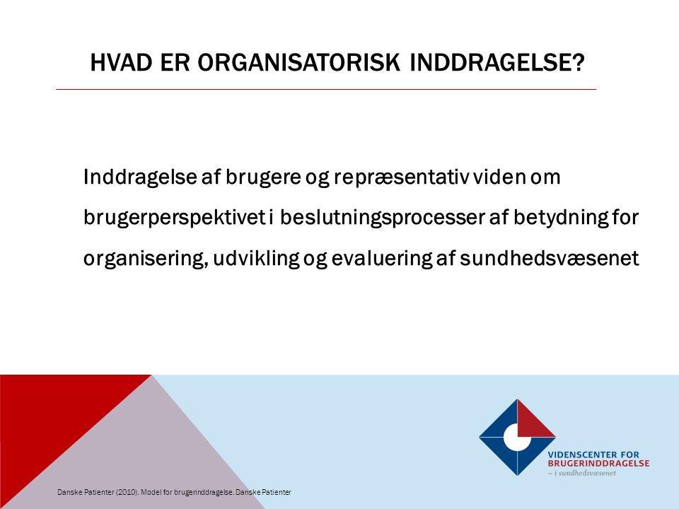 Hvad er Organisatorisk inddragelse
