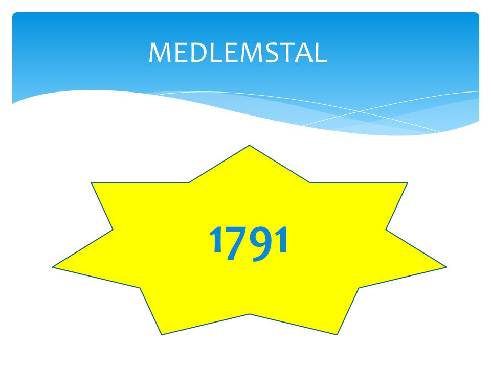 MEDLEMSTAL 1791