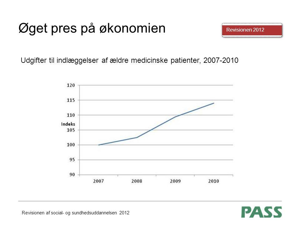 Øget pres på økonomien Udgifter til indlæggelser af ældre medicinske patienter, 2007-2010