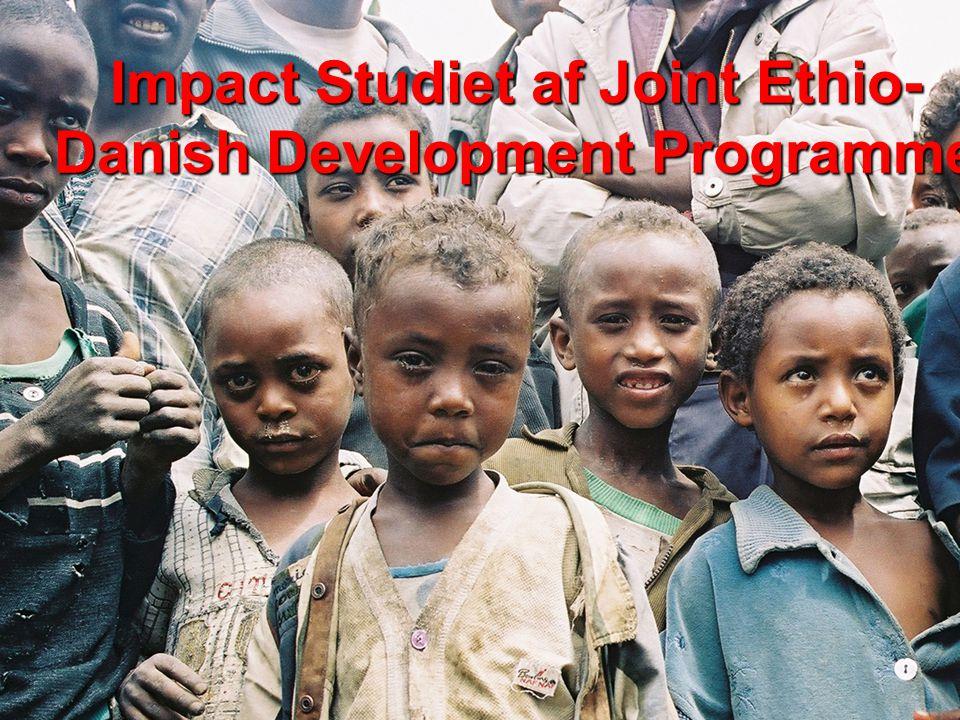 Impact Studiet af Joint Ethio- Danish Development Programme