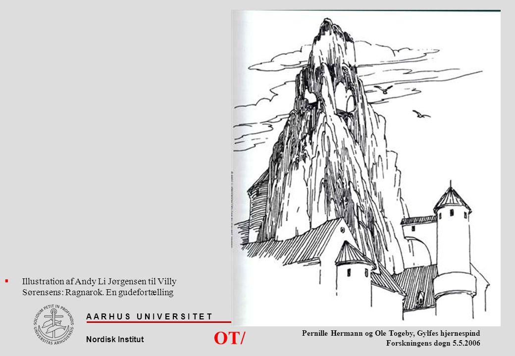 Illustration af Andy Li Jørgensen til Villy Sørensens: Ragnarok
