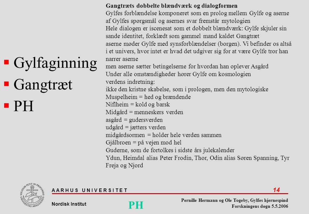 Gylfaginning Gangtræt PH PH