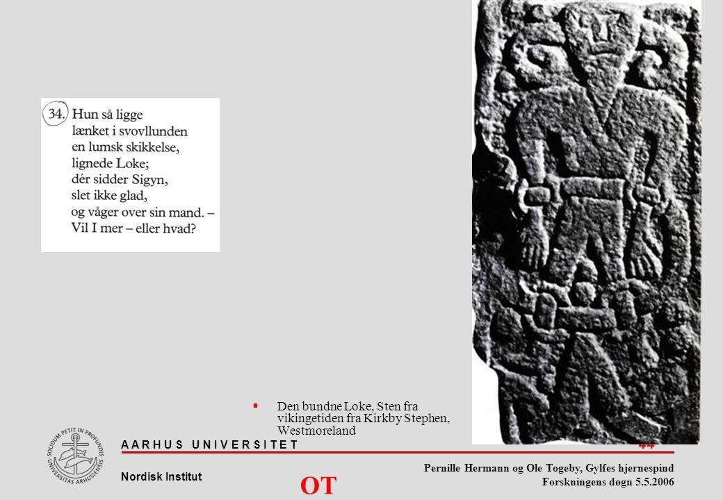 Den bundne Loke, Sten fra vikingetiden fra Kirkby Stephen, Westmoreland