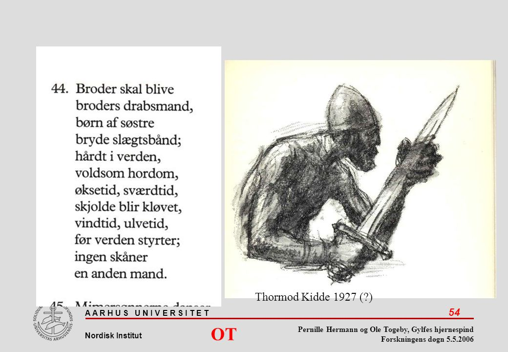 Thormod Kidde 1927 ( ) OT