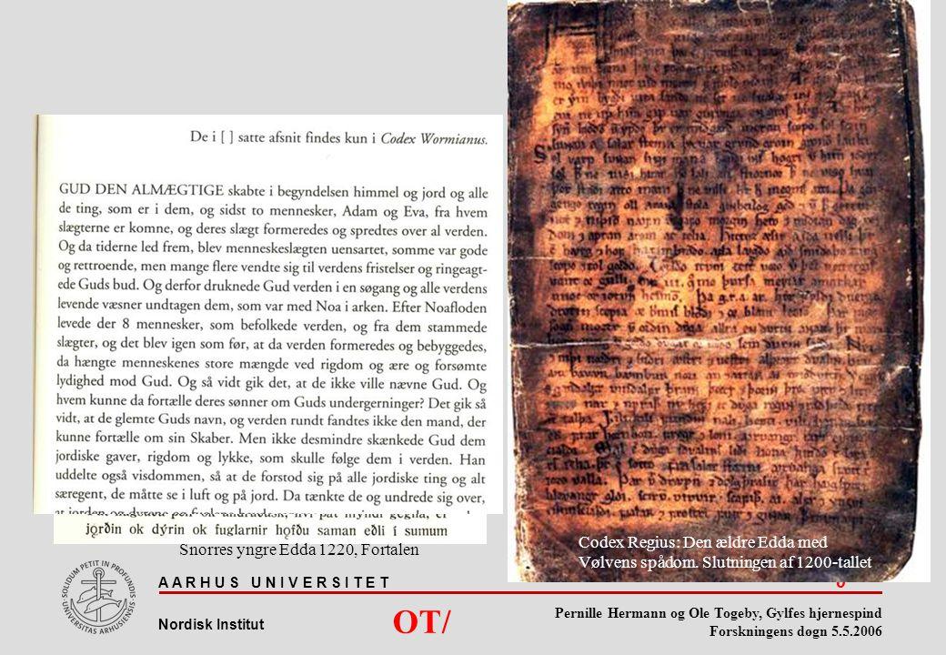 Codex Regius: Den ældre Edda med Vølvens spådom