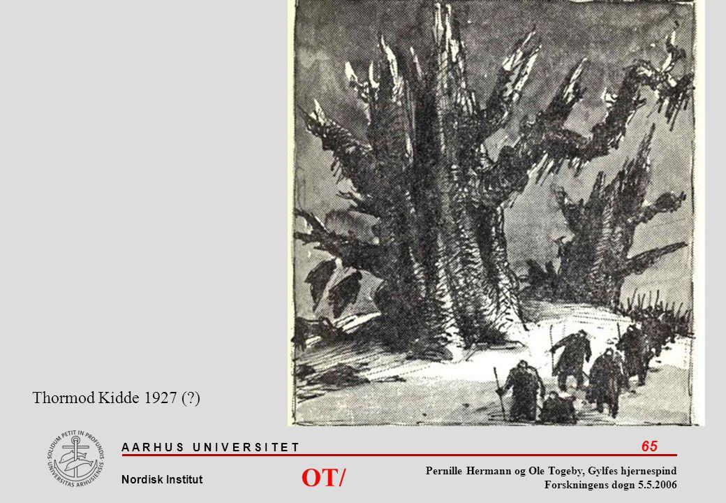 Thormod Kidde 1927 ( ) OT/