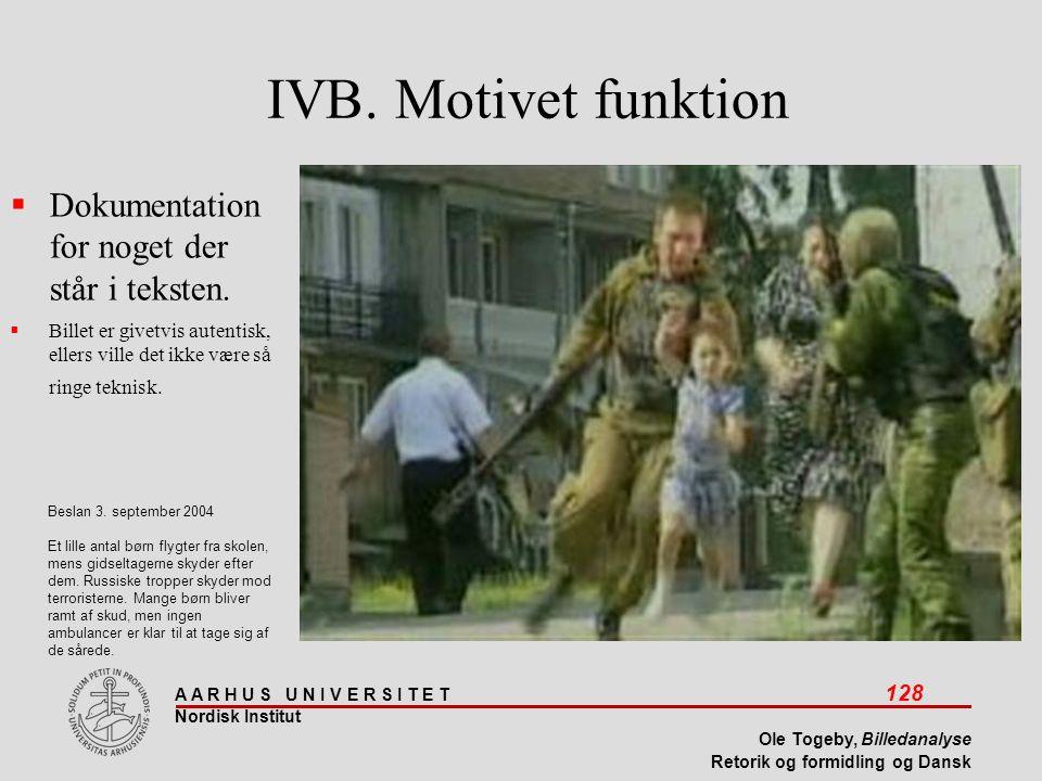 IVB. Motivet funktion Dokumentation for noget der står i teksten.