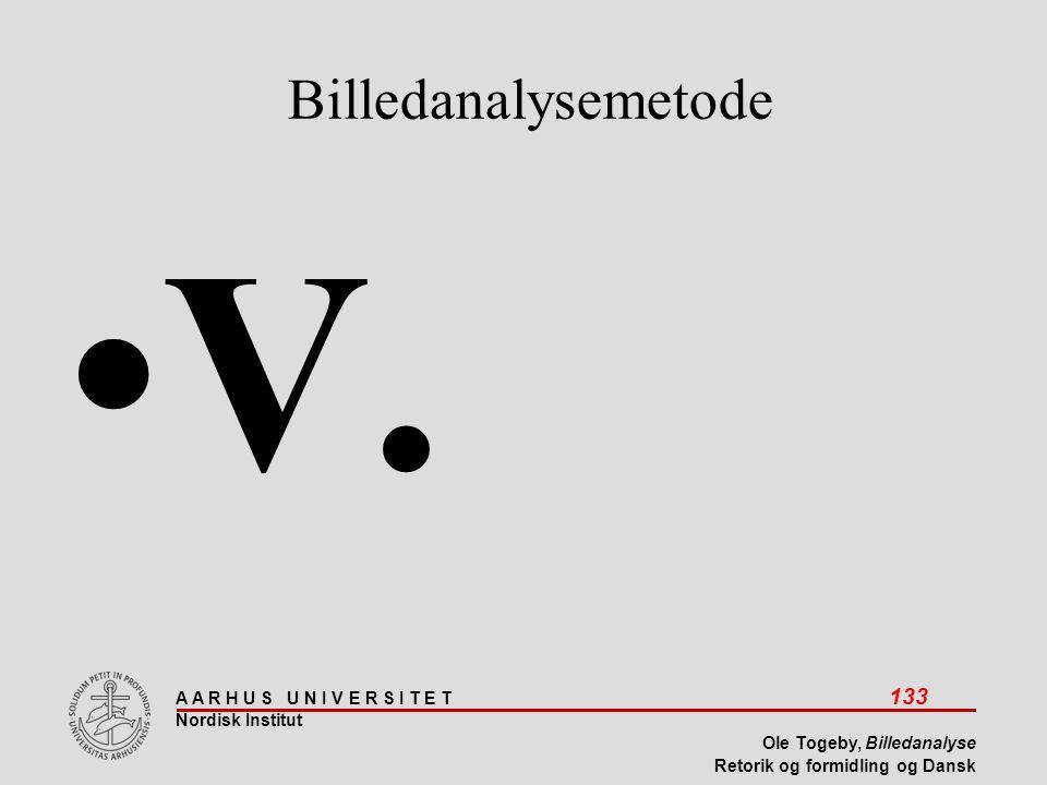 Billedanalysemetode V.