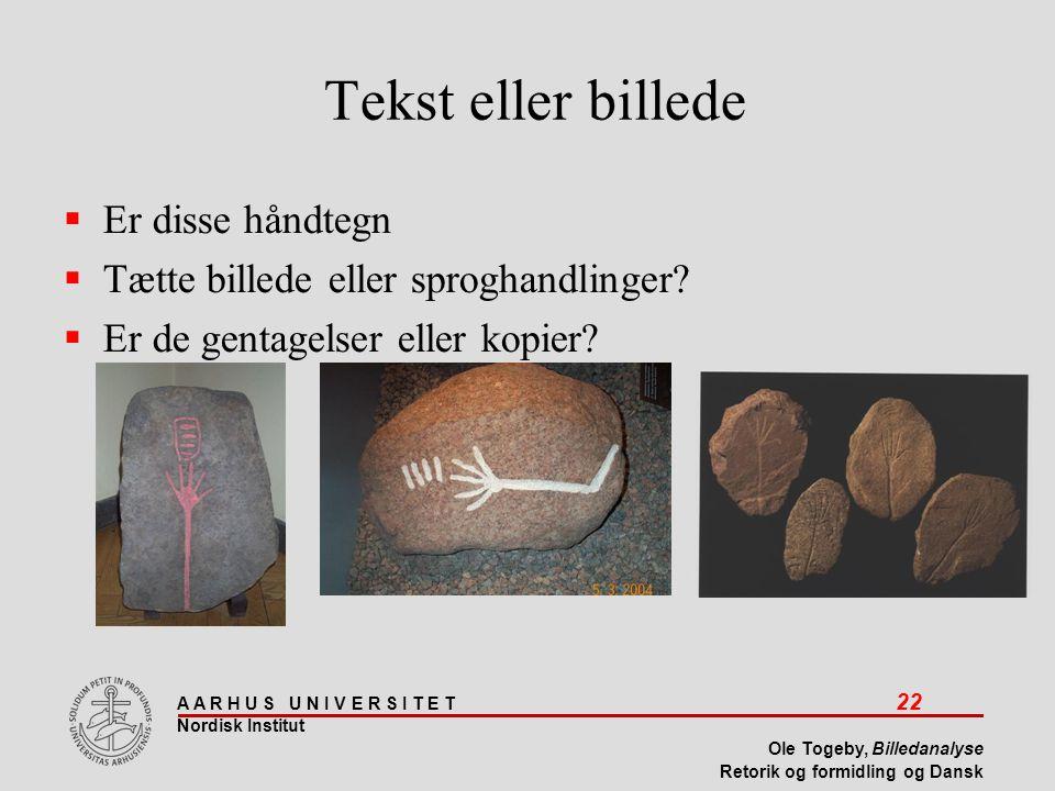 Tekst eller billede Er disse håndtegn