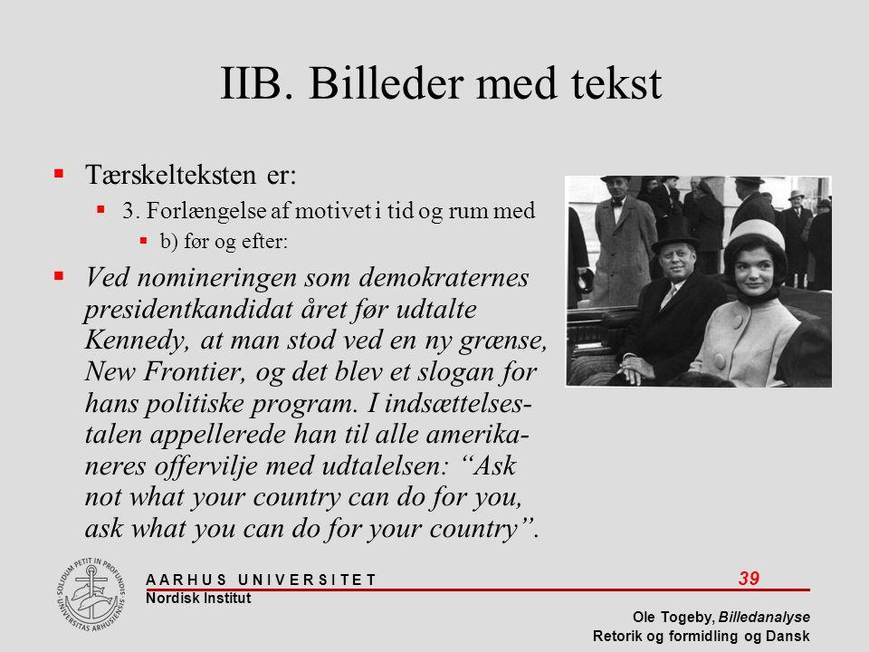 IIB. Billeder med tekst Tærskelteksten er: