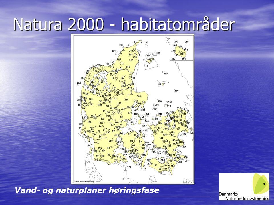 Natura 2000 - habitatområder