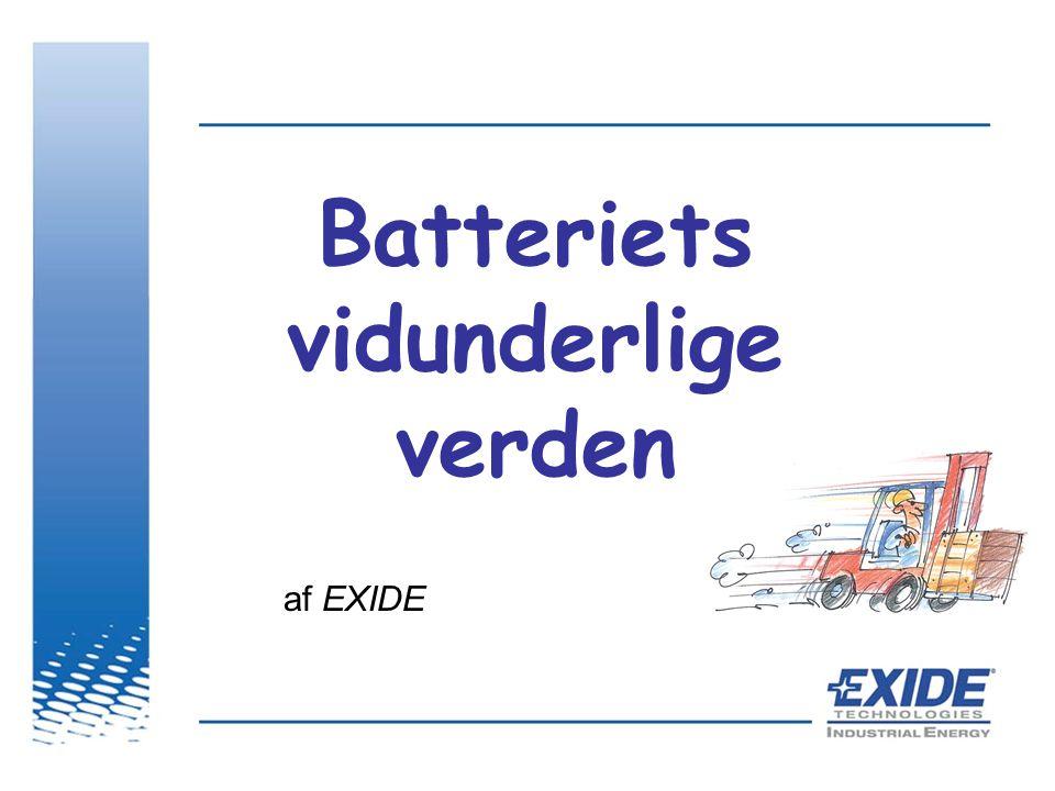 Batteriets vidunderlige verden