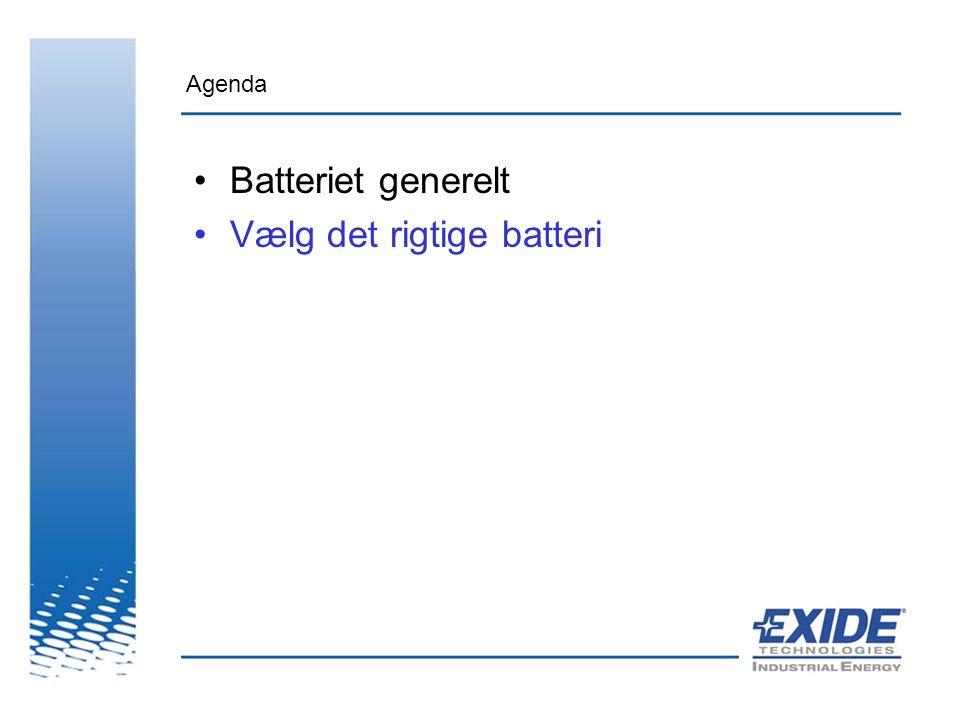 Vælg det rigtige batteri