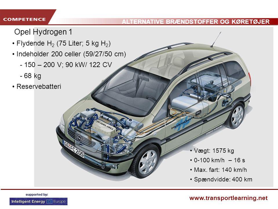 Opel Hydrogen 1 Flydende H2 (75 Liter; 5 kg H2)