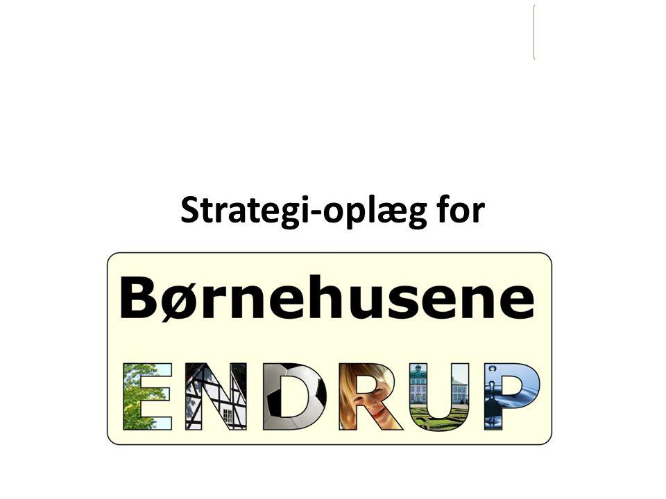 Strategi-oplæg for