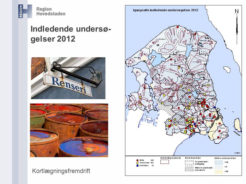 Indledende undersø-gelser 2012