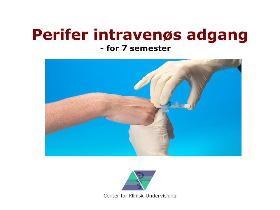 Perifer intravenøs adgang