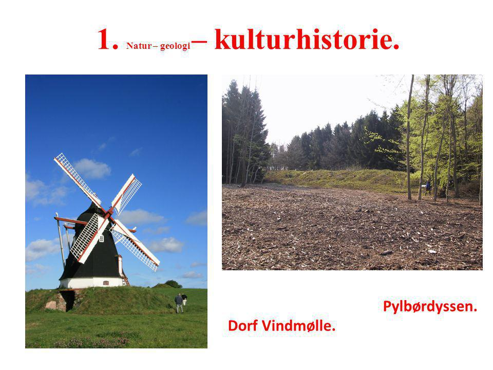 1. Natur – geologi – kulturhistorie.