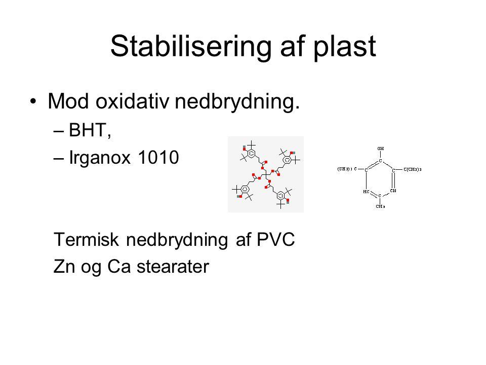 Stabilisering af plast