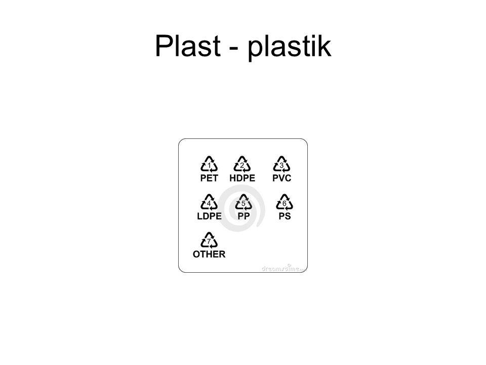 Plast - plastik