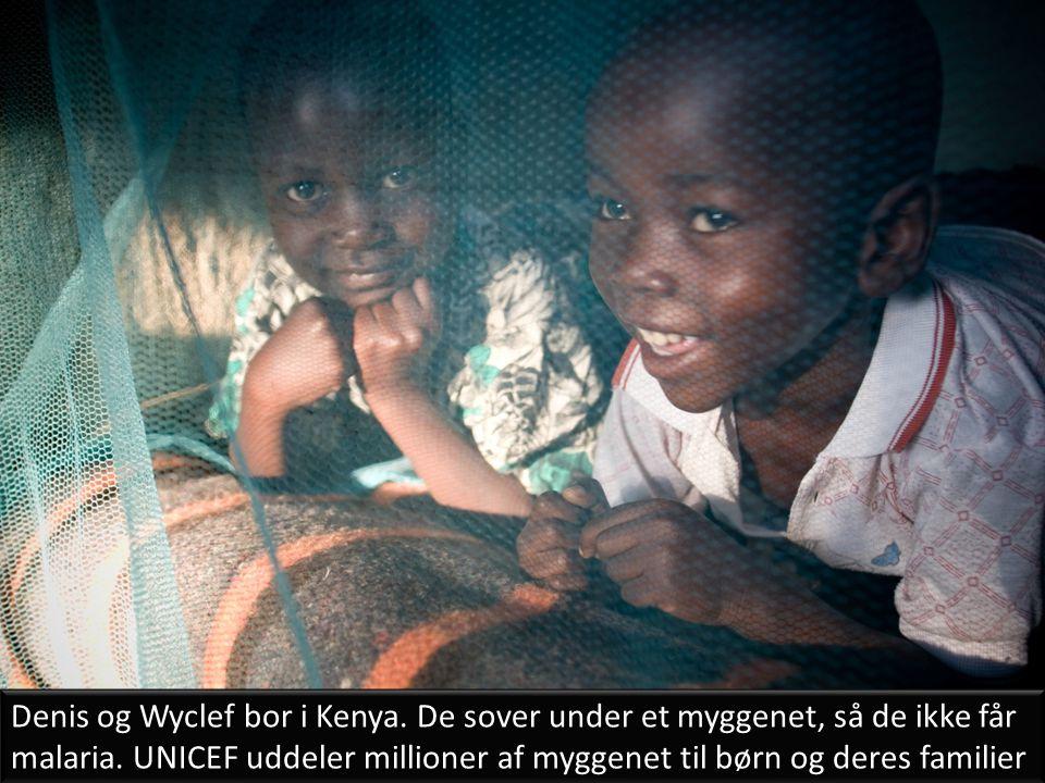 Denis og Wyclef bor i Kenya
