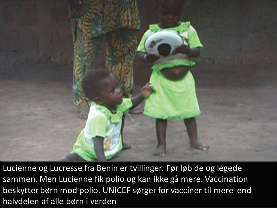 Lucienne og Lucresse fra Benin er tvillinger