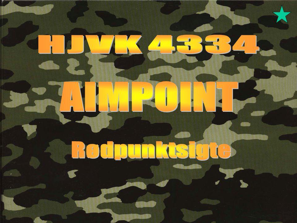 HJVK 4334 AIMPOINT Rødpunktsigte