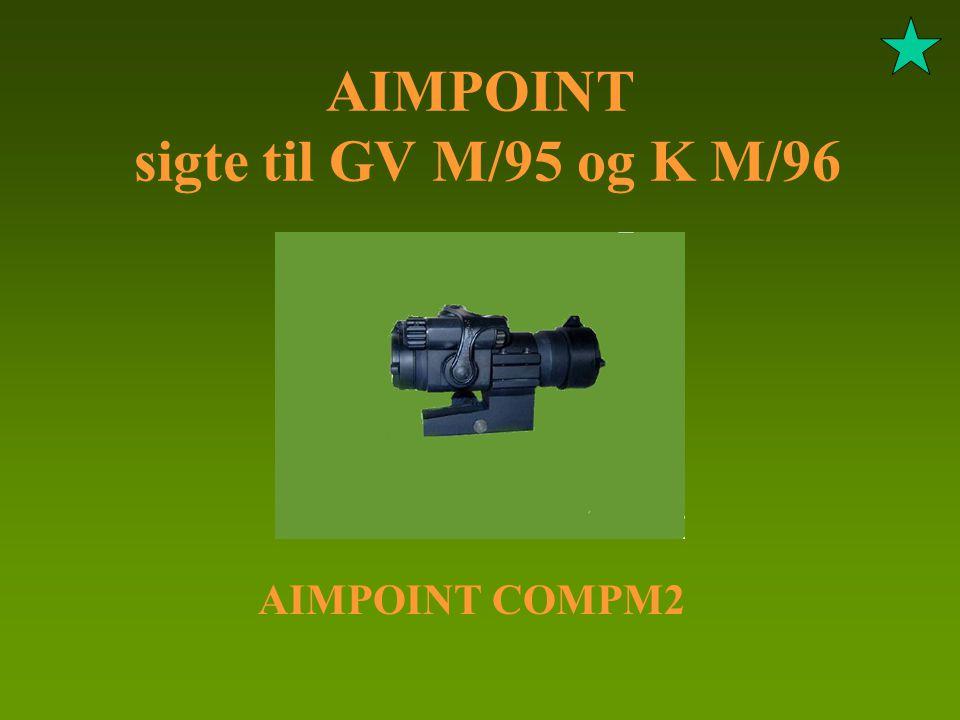 AIMPOINT sigte til GV M/95 og K M/96