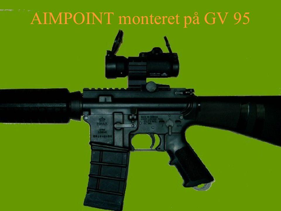 AIMPOINT monteret på GV 95
