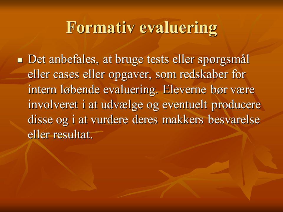 Formativ evaluering