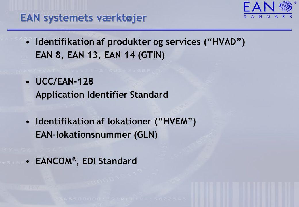 EAN systemets værktøjer