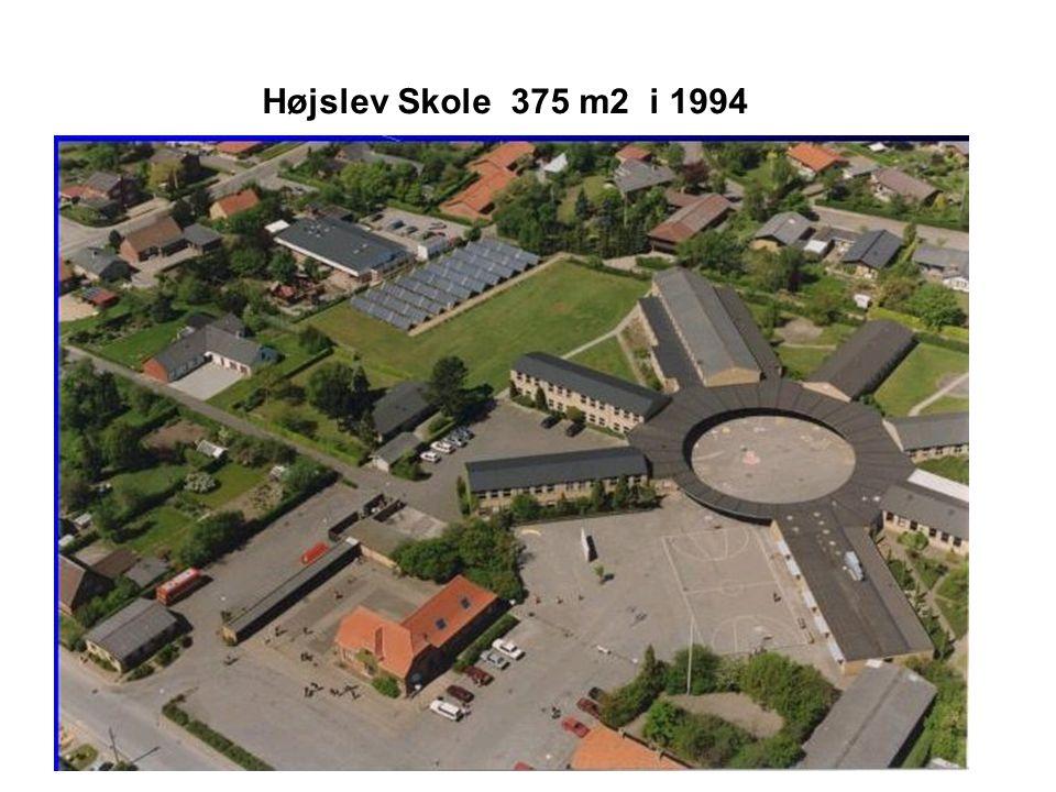 Højslev Skole 375 m2 i 1994