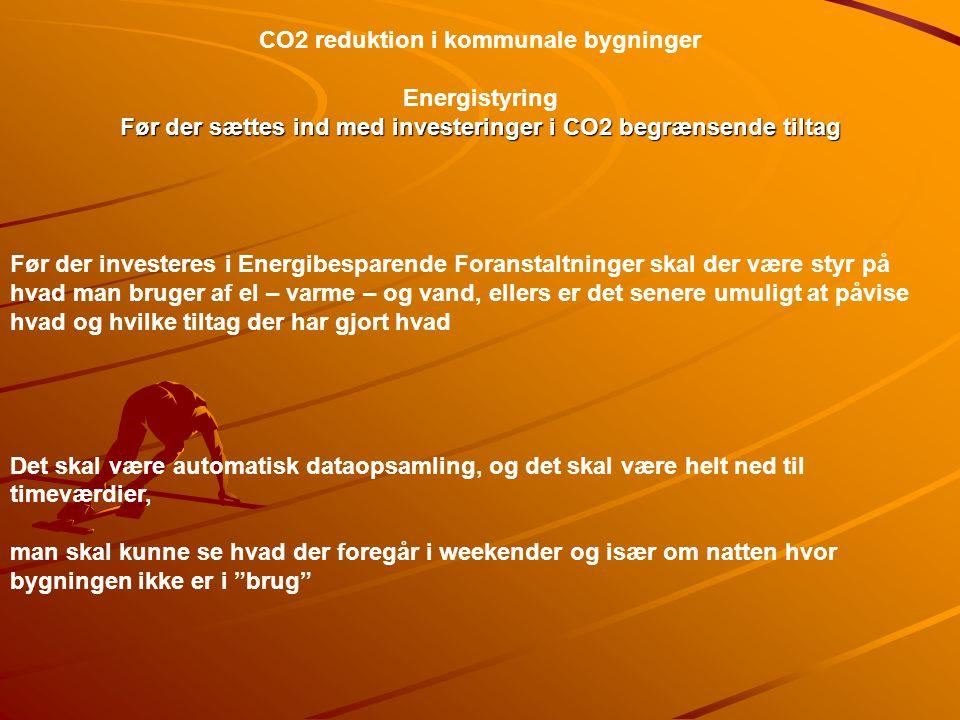 Før der sættes ind med investeringer i CO2 begrænsende tiltag