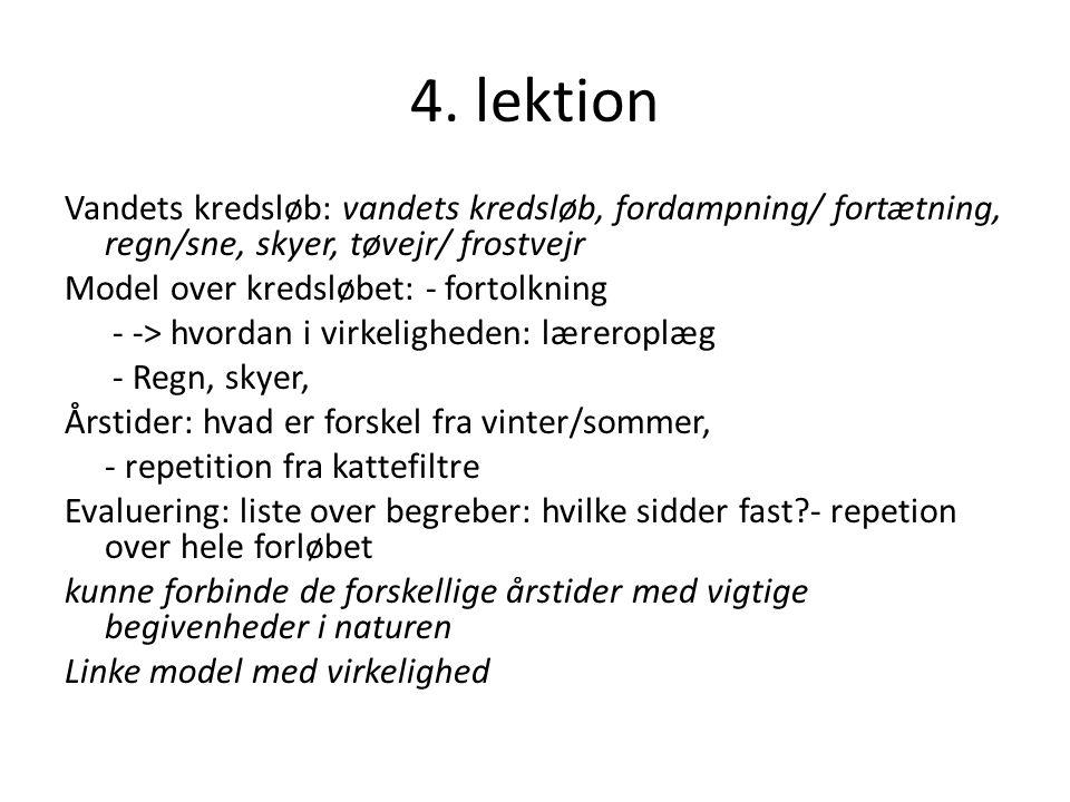 4. lektion