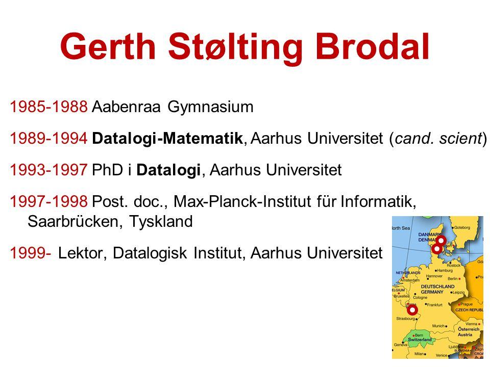 Gerth Stølting Brodal