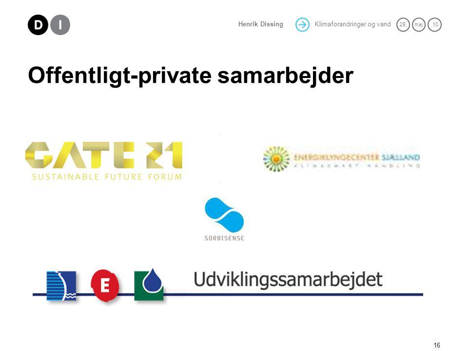 Offentligt-private samarbejder