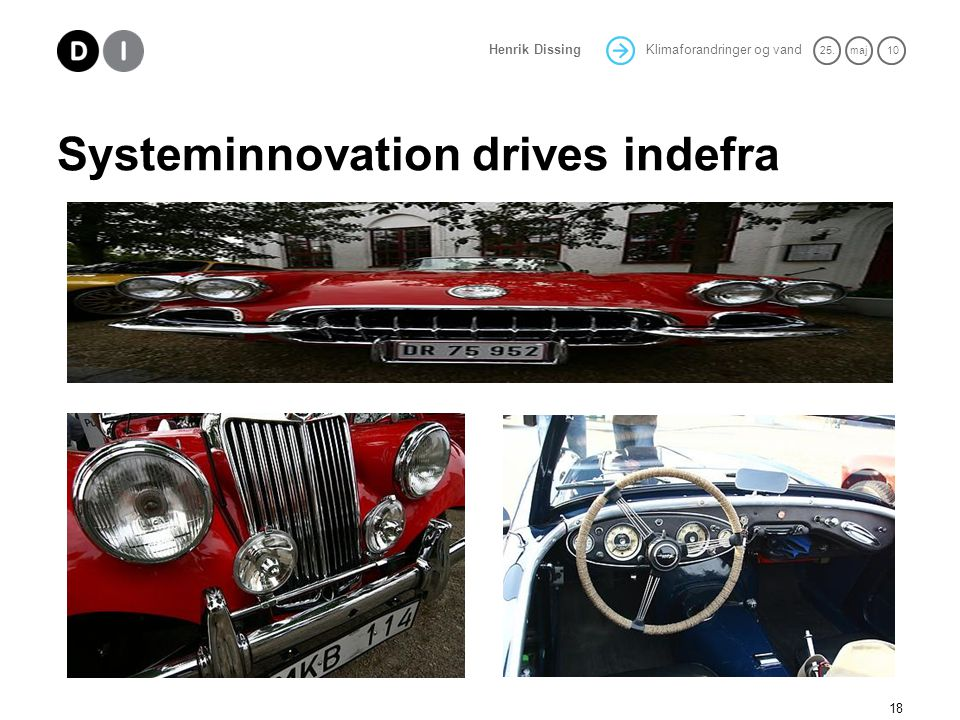 Systeminnovation drives indefra