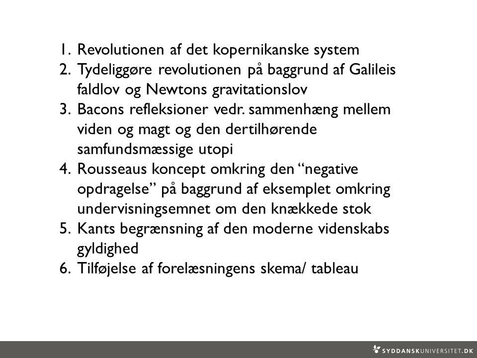 Revolutionen af det kopernikanske system