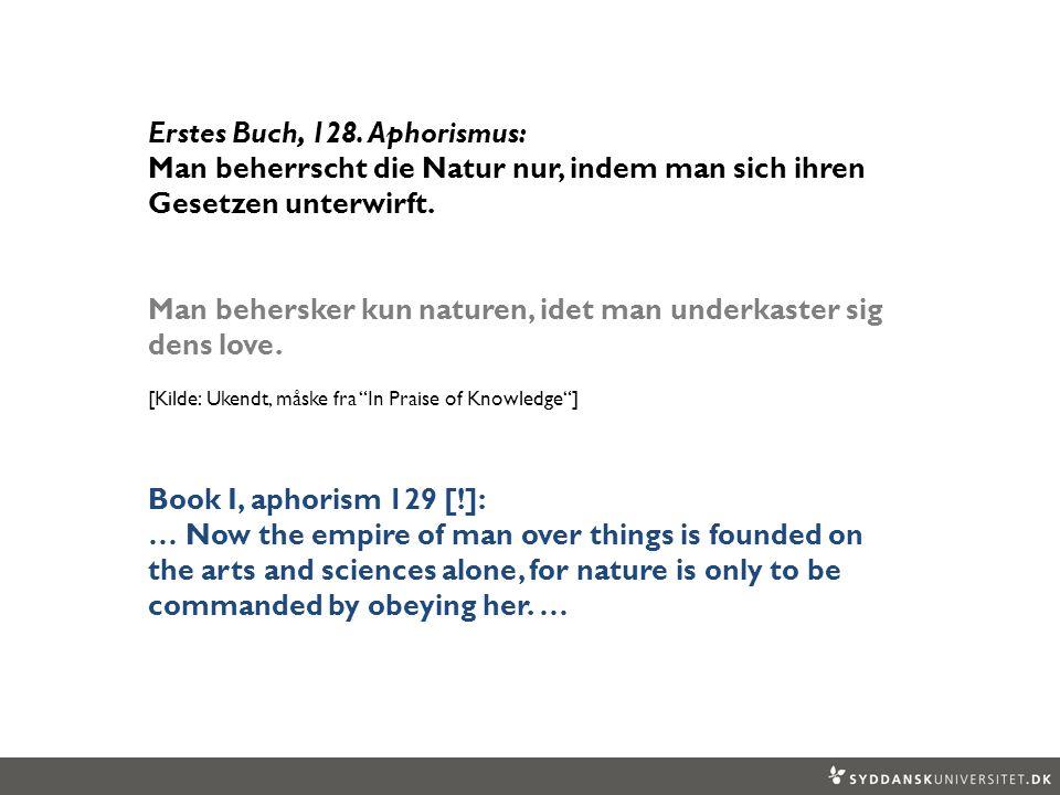Erstes Buch, 128. Aphorismus: