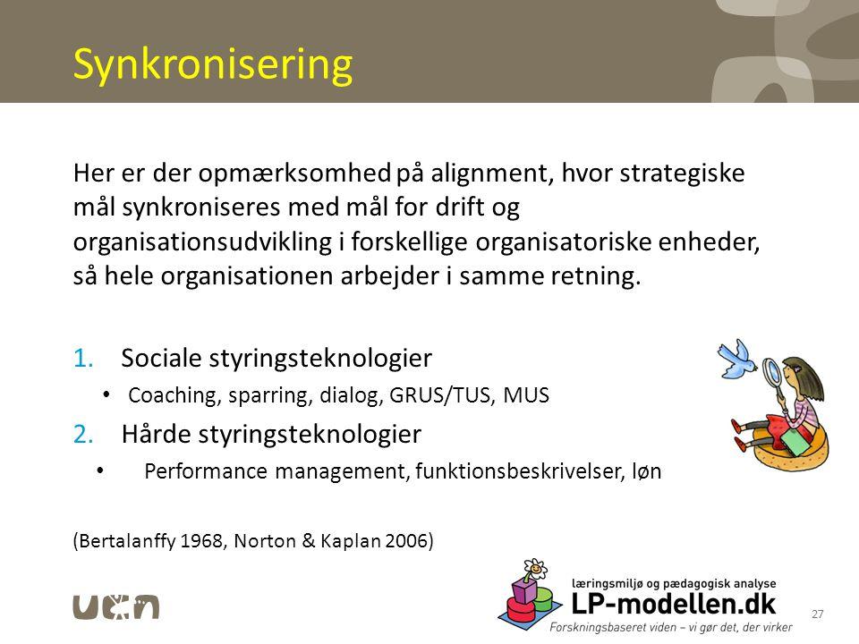 Synkronisering