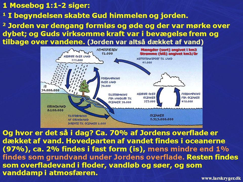 1 I begyndelsen skabte Gud himmelen og jorden.