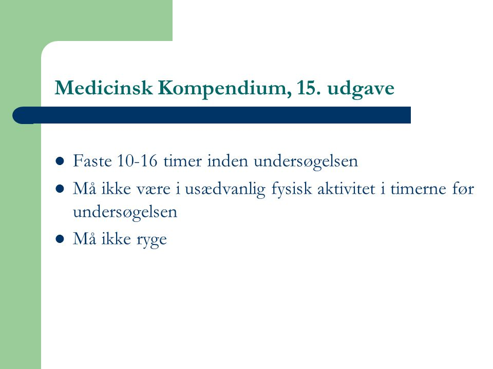 Medicinsk Kompendium, 15. udgave