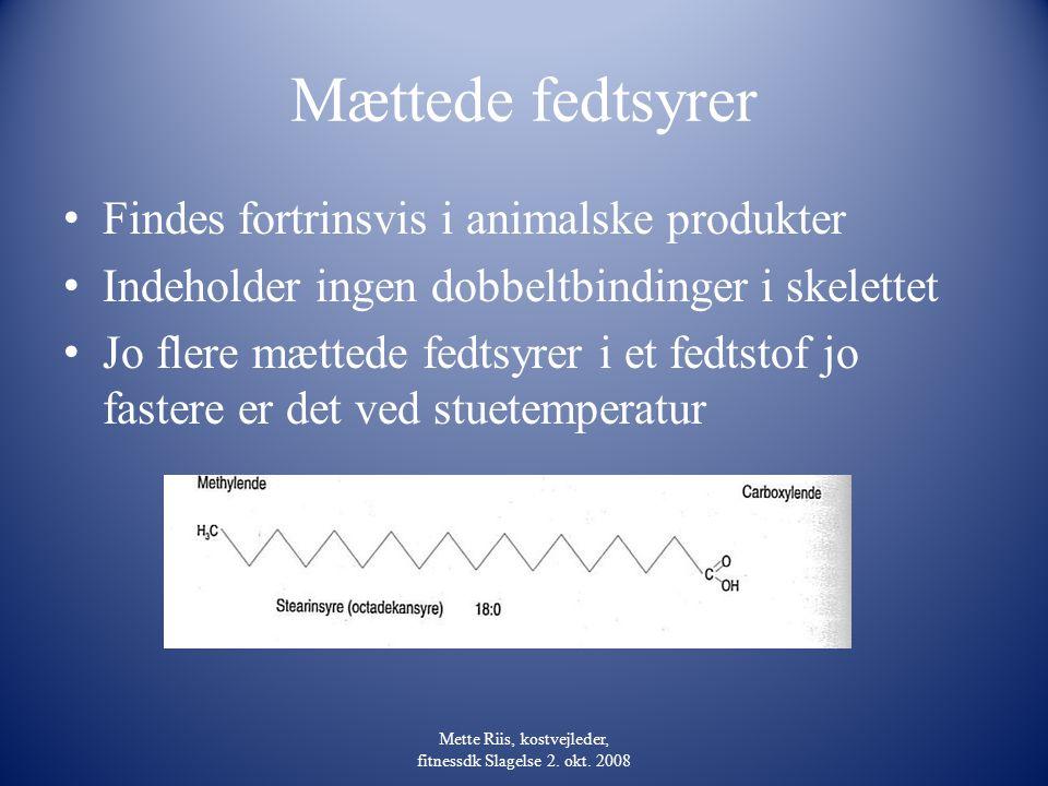 Mette Riis, kostvejleder, fitnessdk Slagelse 2. okt. 2008