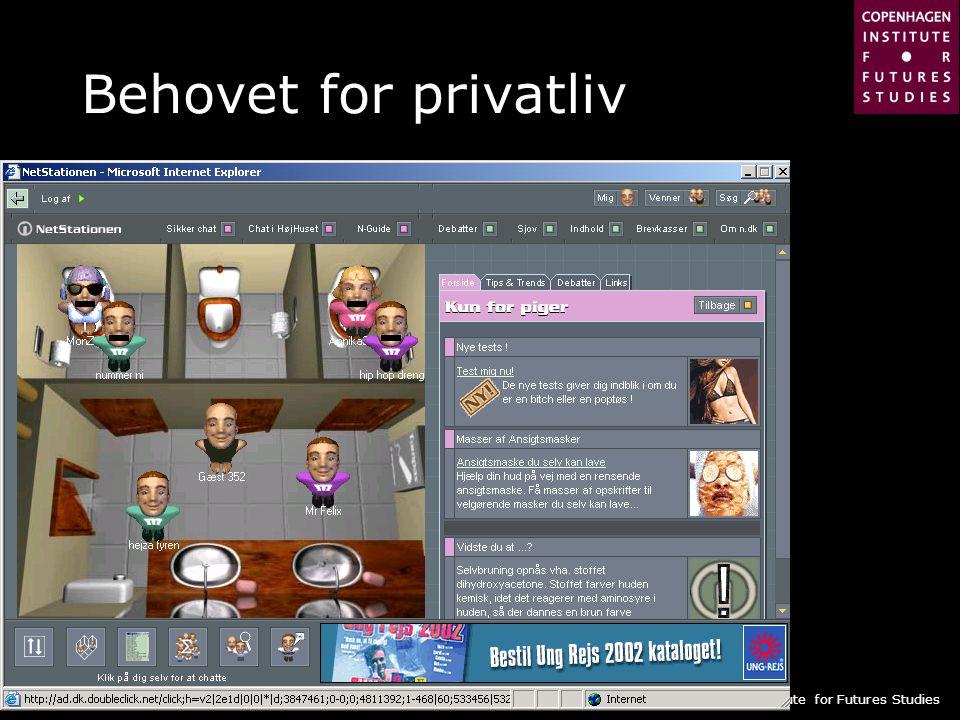 Behovet for privatliv