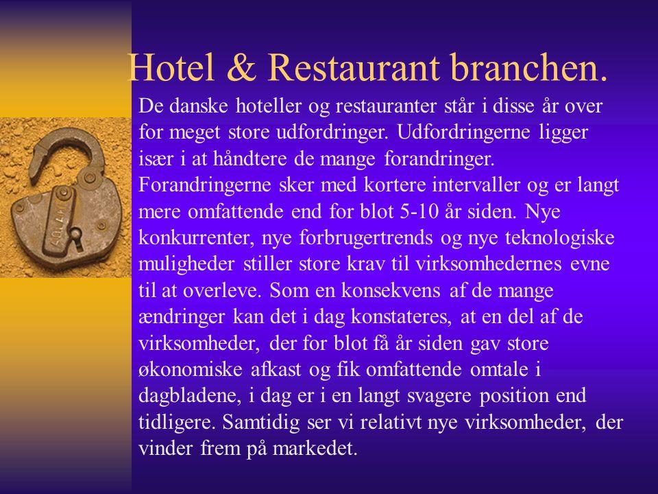 Hotel & Restaurant branchen.
