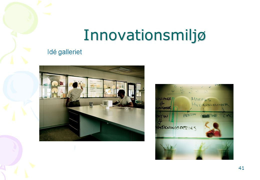 Innovationsmiljø Idé galleriet
