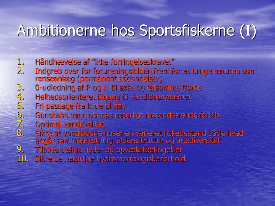 Ambitionerne hos Sportsfiskerne (I)