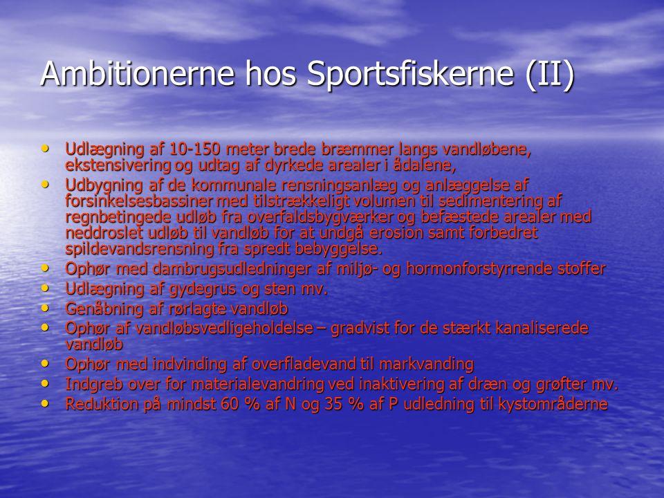 Ambitionerne hos Sportsfiskerne (II)